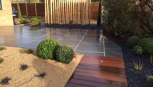 Création d''une terrasse harmonieuse - (35)