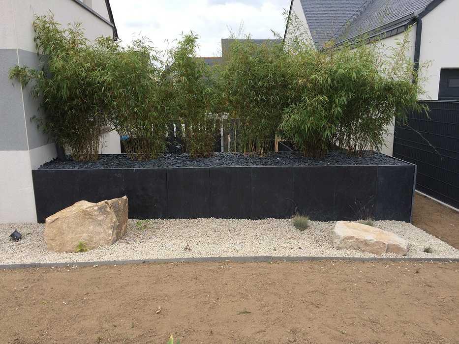 Aménagement complet de l''extérieur d''une propriété - (22) palisdardoise