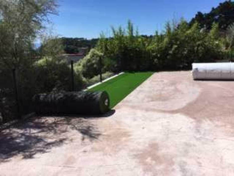 Création d''un jardin et aménagement d''un espace détente en balcon - (22) img0272