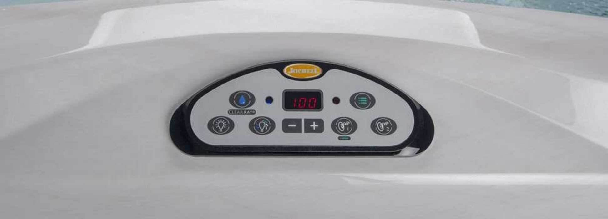 Jacuzzi® J-300™  j-300-hot-tub-control-panel